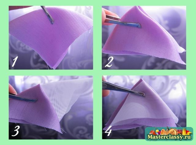 Как сделать прихватки для штор пошагово