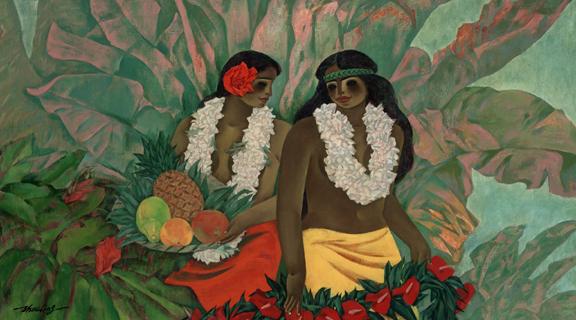 Гавайский Сестра (576x320, 960Kb)