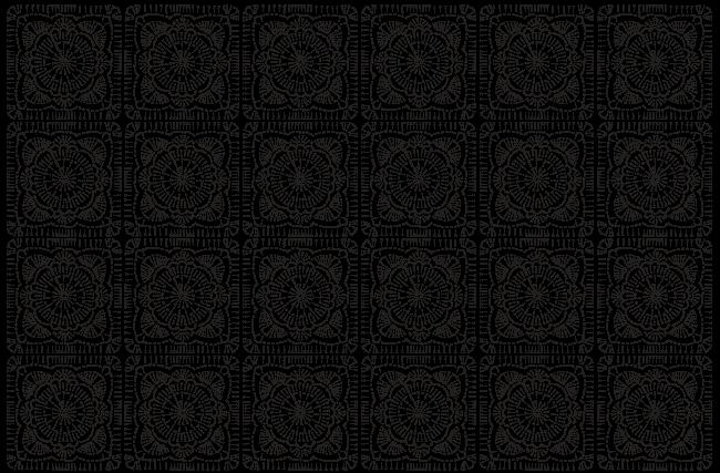 Синий плед крючком квадратными мотивами (1) (650x427, 95Kb)