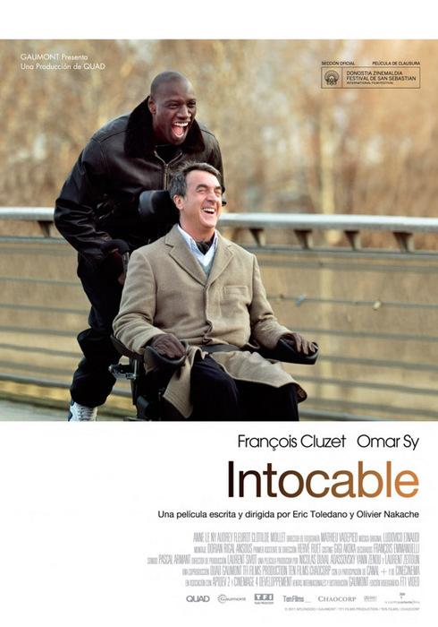 """Intouchables/""""1+1""""/1415502_Intouchables (490x700, 99Kb)"""