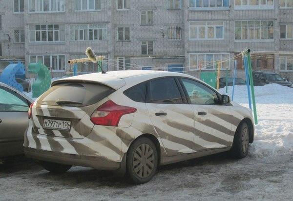 Идея для грязного авто (600x412, 57Kb)