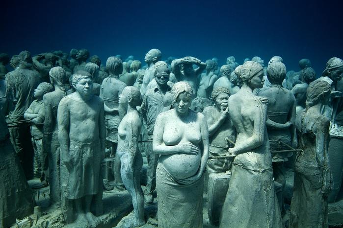Чарующие подводные скульптуры от Jason deCaires Taylor (30 фото)