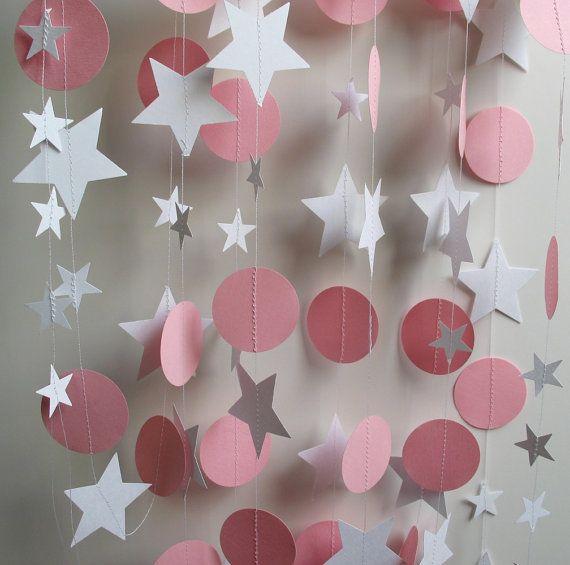 Бумажные гирлянды своими руками на день рождения мальчику