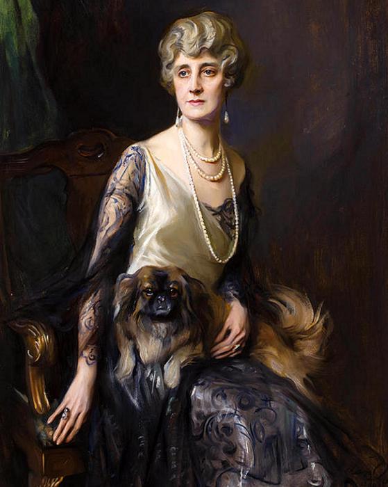 Mrs. Frederick L. Pratt, neé Miss Jeannie Williams (559x700, 637Kb)