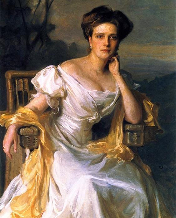 Princess Andrew of Greece, née Princess Alice of Battenberg (565x700, 477Kb)