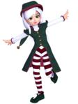 ������ Christmas Elf 01 (336x448, 113Kb)