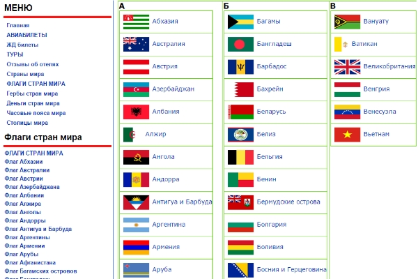 Флаги стран мира  флаг мира в картинках и в фото с