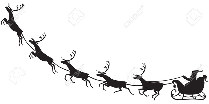 16851169-Silhouette-of-Santa-Claus-sitting-in-a-sleigh-reindeer-who-pull-Stock-Vector (700x350, 56Kb)