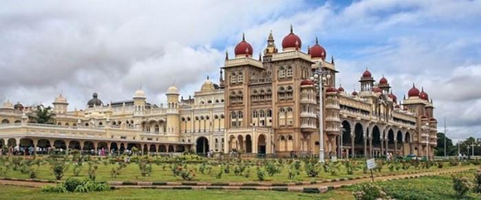 Майсурский дворец, красивейшая достопримечательность Индии в огнях!