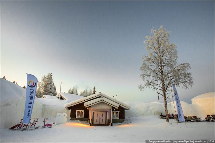 ледяной отель в лапландии 1 (700x466, 379Kb)