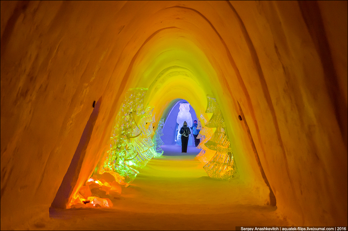 ледяной отель в лапландии 3 (700x465, 398Kb)