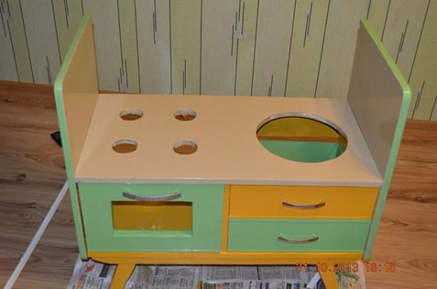 Кухня из старой мебели своими руками детская
