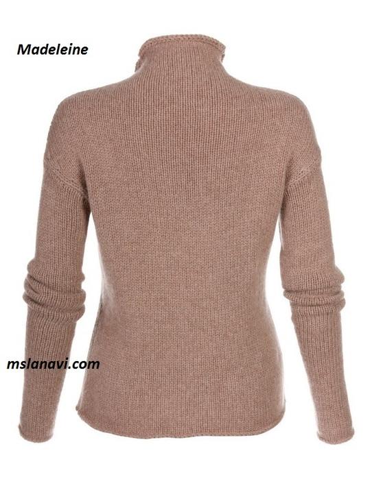 модный-пуловер-спицами-спинка (542x700, 245Kb)