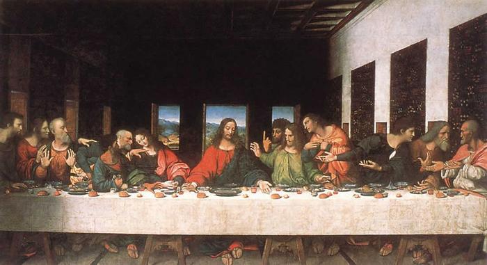 тайная вечеря (700x381, 274Kb)