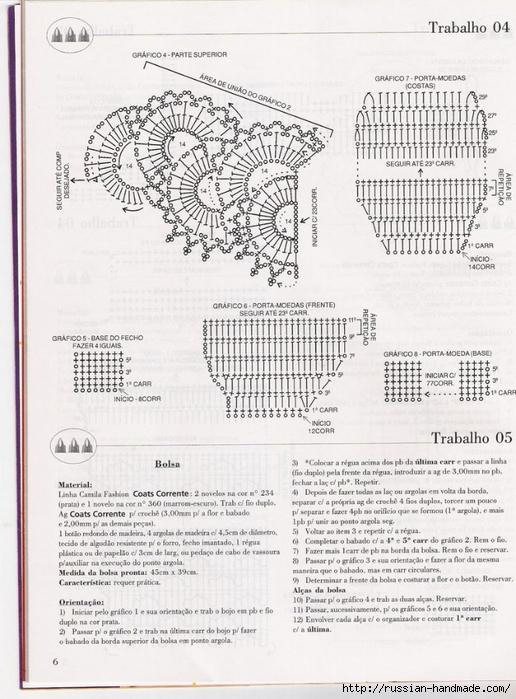 Летняя сумочка крючком. Схема (1) (516x700, 272Kb)