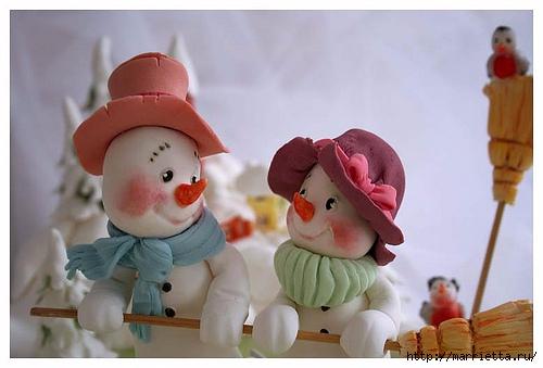 Лепка из полимерной глины. Красивые работы детской тематики (11) (500x339, 105Kb)
