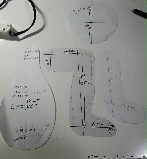 Выкройка кукла держатель для туалетной бумаги своими руками мастер класс 4