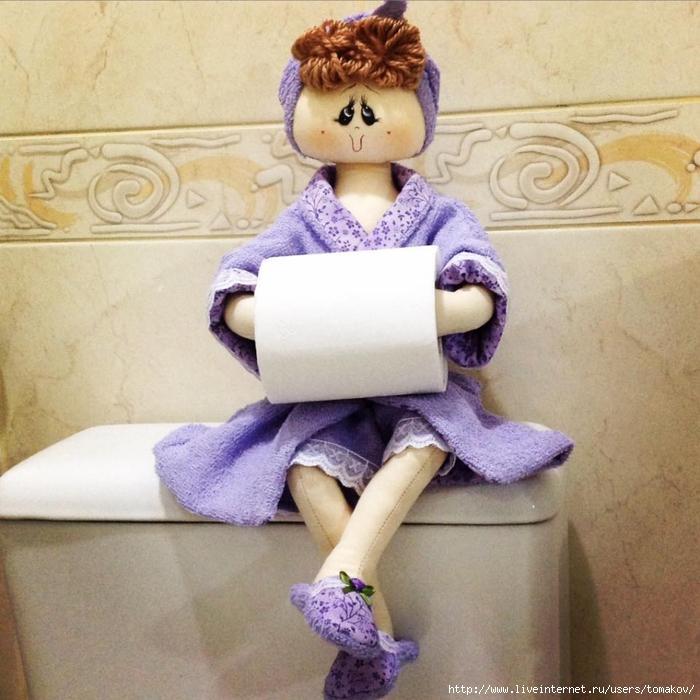 Как сделать куклу держатель 926