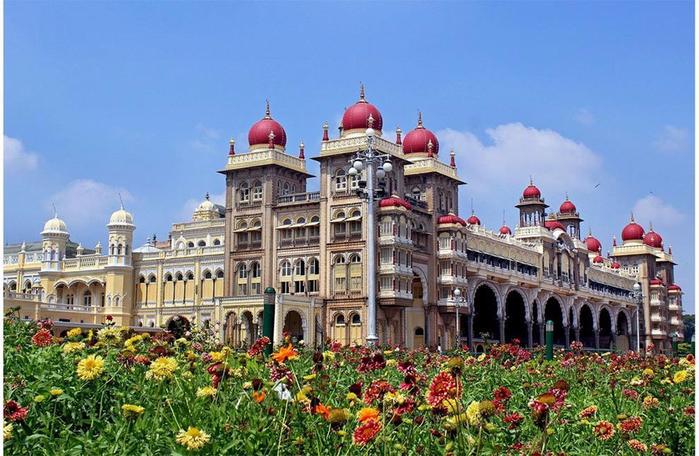 майсурский дворец индия 2 (700x456, 383Kb)