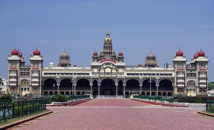майсурский дворец индия 5 (700x427, 266Kb)