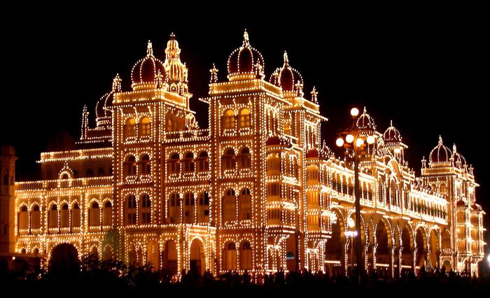майсурский дворец индия 7 (700x426, 393Kb)