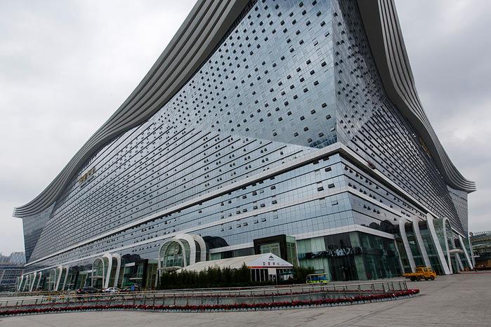 глобальный центр в ченду китай