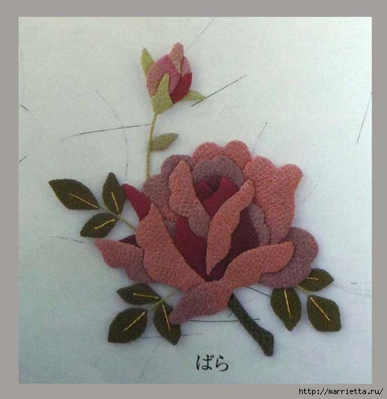 Цветочная аппликация от китайских мастериц (13) (552x569, 109Kb)