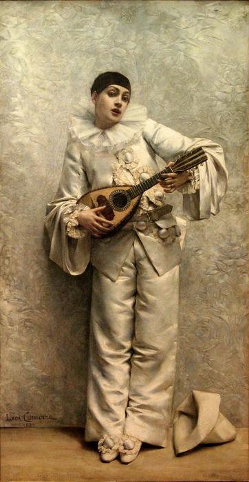 Comerre-Pierrot_jouant_de_la_mandoline-MuseМЃe_de_Gap (362x700, 334Kb)
