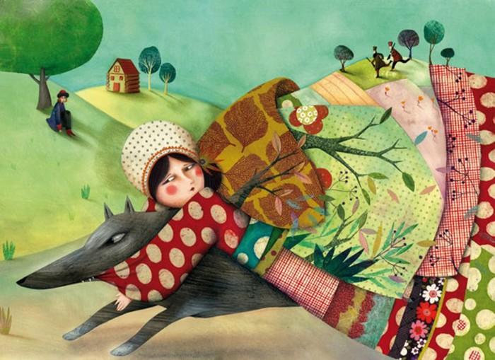 Прекрасные картинки! 5 современных иллюстраторов, которые погрузили нас в сказку