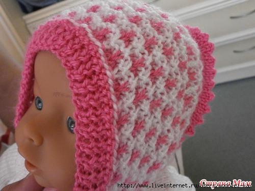 Детские шапки связаные