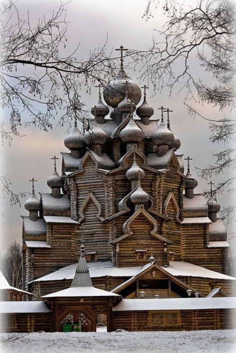 049_Kizhi Island, Russia,is an island near the geometrical center of the Lake Onega in the Republic of Karelia. (468x700, 318Kb)