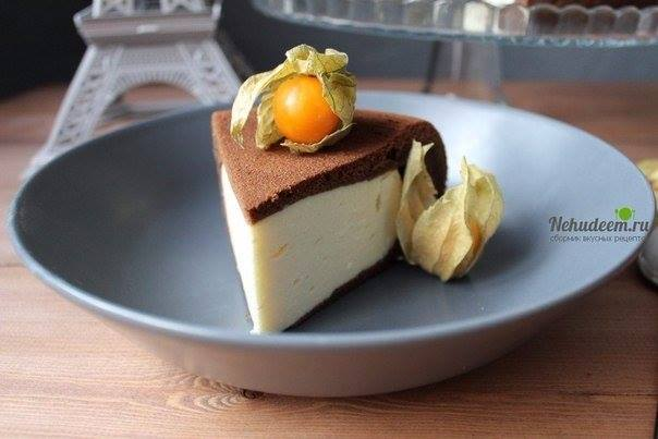 Рецепт шоколадного пирога с творогом в мультиварке