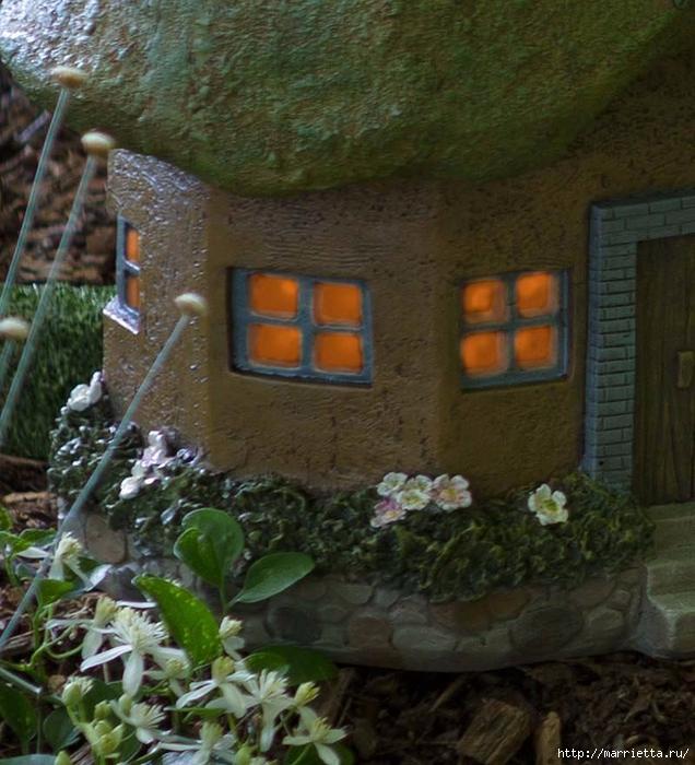 Миниатюрные скульптуры для волшебного сада. Идеи (3) (636x700, 325Kb)