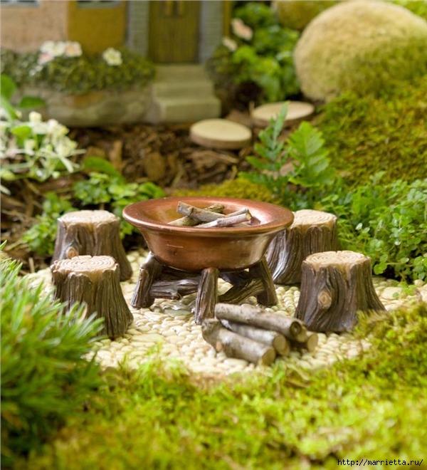 Миниатюрные скульптуры для волшебного сада. Идеи (5) (600x660, 252Kb)