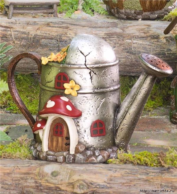 Миниатюрные скульптуры для волшебного сада. Идеи (11) (600x660, 319Kb)