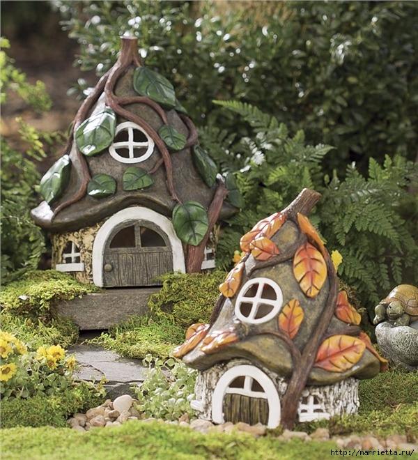 Миниатюрные скульптуры для волшебного сада. Идеи (15) (600x660, 315Kb)