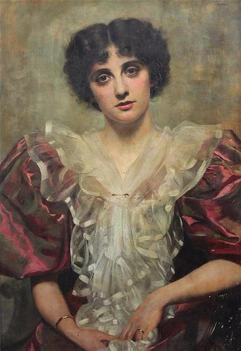 Портрет актрисы и певицы Марджори Виллис (481x700, 333Kb)
