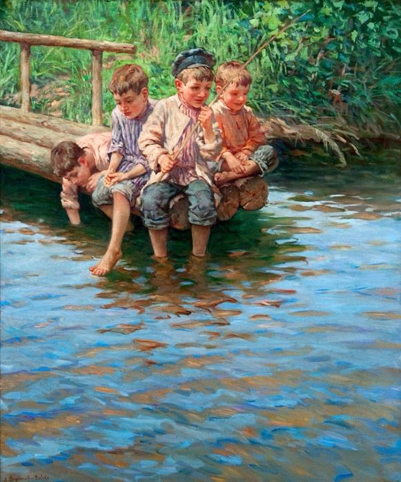 трое друзей пошли на рыбалку петя ростом выше