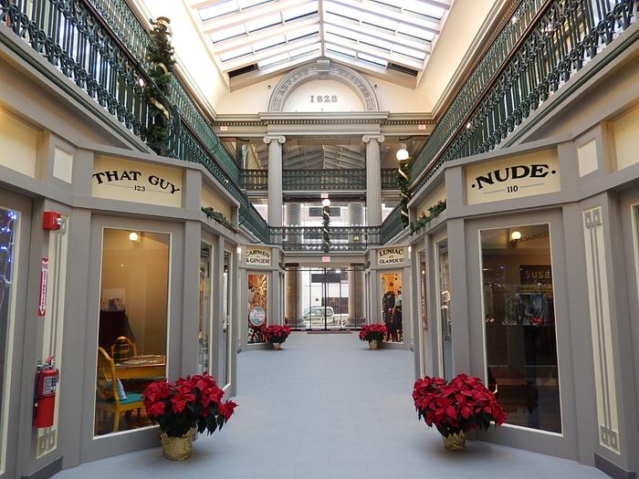 самый старый в мире торговый центр The Arcade 2 (700x525, 454Kb)