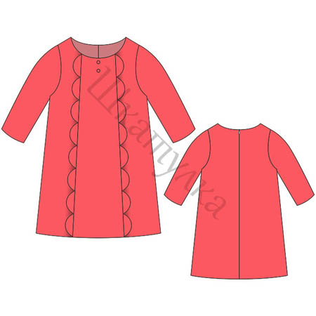 Готовые выкройки женских маленьких черных платьев распечатать