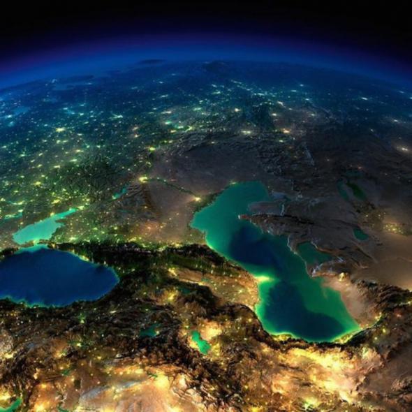 Кавказ. Касп. и чёрн. море (590x590, 272Kb)