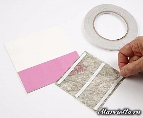 Новогодняя открытка с елочкой в технике оригами (5) (483x398, 105Kb)