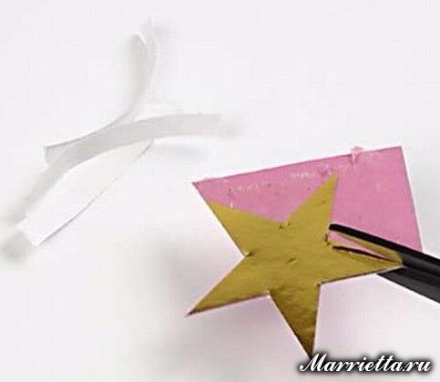 Новогодняя открытка с елочкой в технике оригами (7) (483x419, 92Kb)
