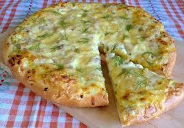 Ароматный пирог с творогом и зеленью