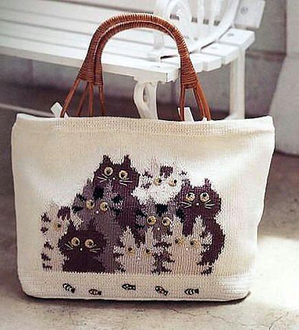 сумка с котятами (435x480, 168Kb)