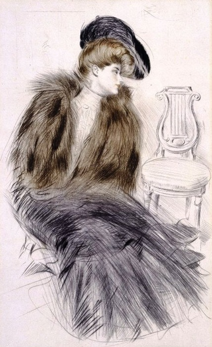 Paul Cesar Helleu (1859-1927) . (428x700, 119Kb)