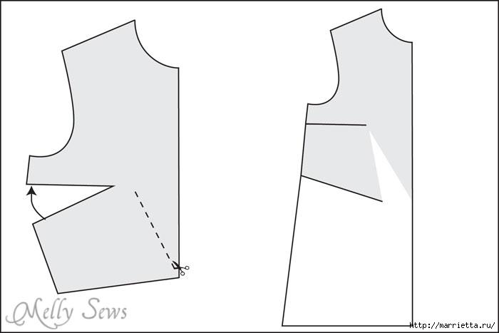 Переделка одежды. Сарафан из платья (1) (700x467, 43Kb)