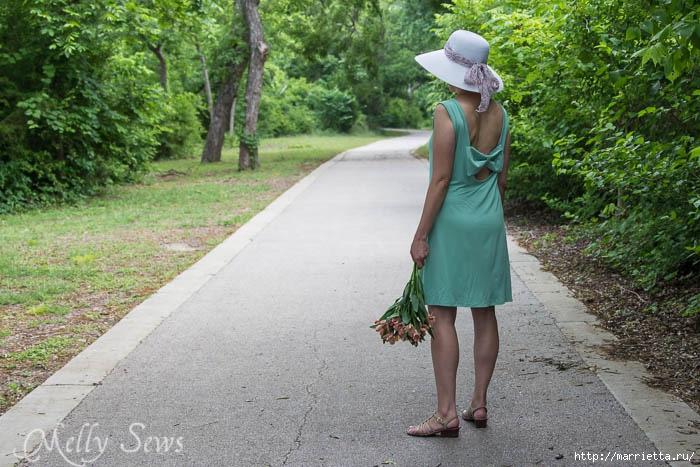 Переделка одежды. Сарафан из платья (5) (700x467, 253Kb)