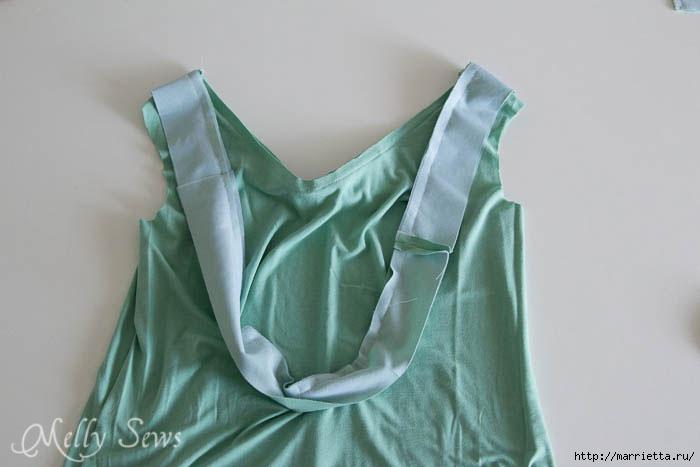 Переделка одежды. Сарафан из платья (11) (700x467, 97Kb)