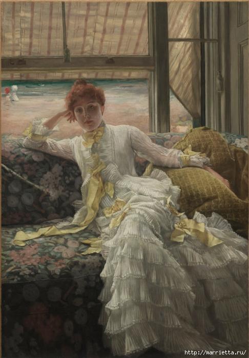 Дизайн интерьера. Романтика 19-го века. Акварель (11) (486x700, 249Kb)